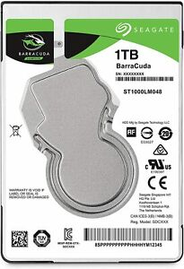 HARD DISK INTERNO NOTEBOOK 2,5 SEAGATE BARRACUDA 1TB 5400Rpm 128MB SATA3