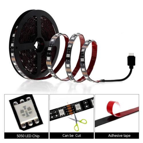 5V USB LED Strip Light RGB Bluetooth 5050 Wifi Lamp Tape TV Light Backlight 5m