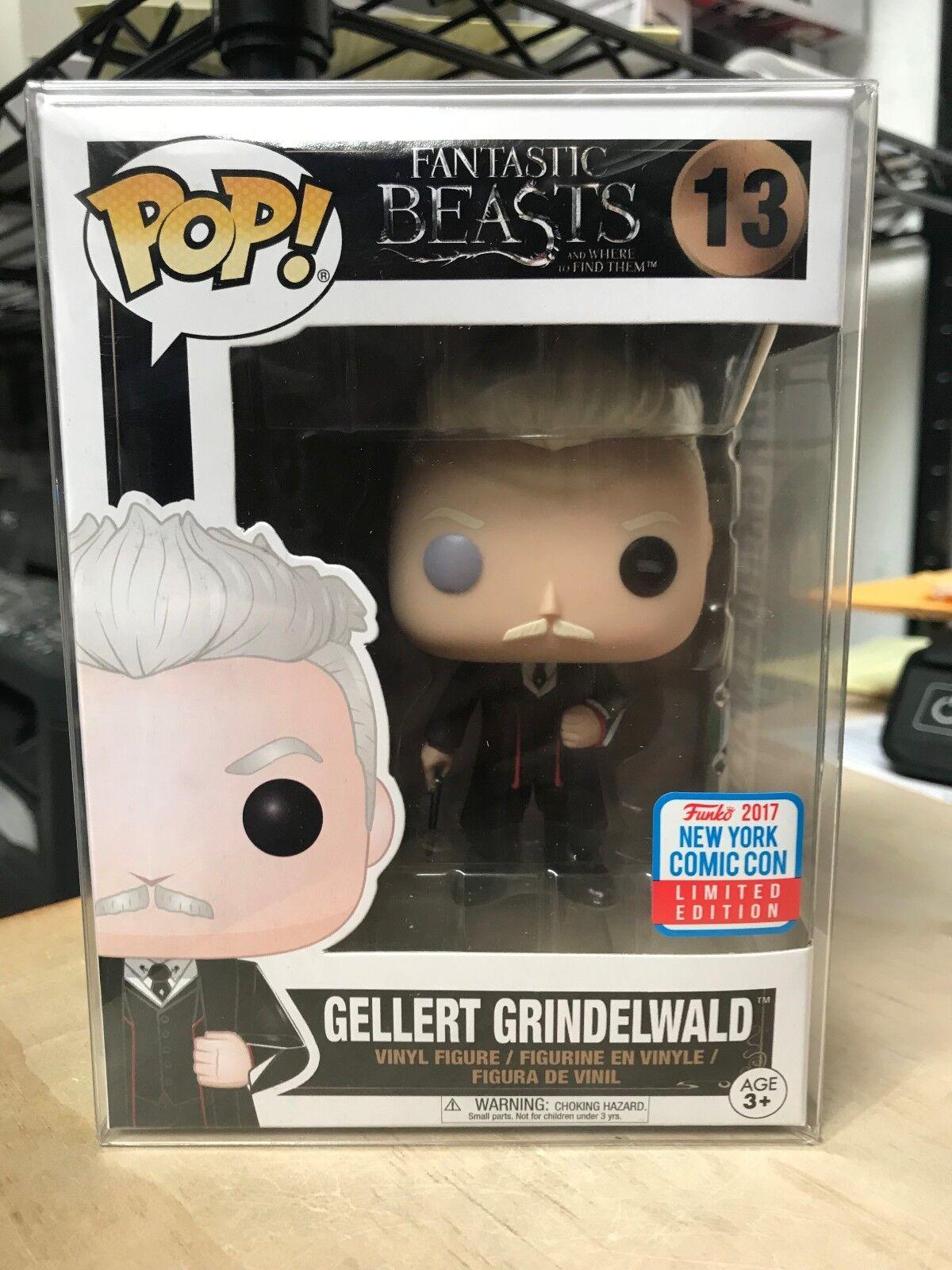 FUNKO POP GELLERT POTTER GRINDELWALD HARRY POTTER GELLERT COMIC CON 2017 NYCC EXCLUSIVE 6fc3c9