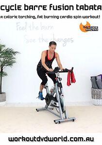 Cycle-Bike-Cycling-EXERCISE-DVD-Barlates-Body-Blitz-CYCLE-BARRE-FUSION-TABATA