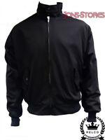 Black Classic Harrington Jacket Mod Scooter By Relco Xs - Xxxl