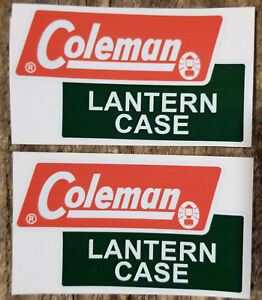 ONE NEW COLEMAN REPLACEMENT FOIL DIAMOND DECAL LANTERN STOVE COOLER WATER JUG