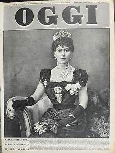 OGGI-N-14-2-APR-1953-MARY-LA-NONNA-REGINA-HA-RIVOLTO-AD-ELISABETTA