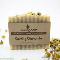 Calming Chamomile Handcrafted Soap - All Natural, Palm Free, Vegan