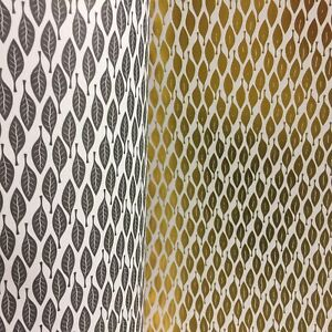 Dolls House Wallpaper 1:12 Trellis Cream Gold Geometric Paste The Paper