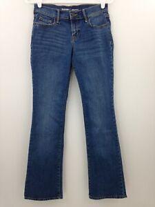 Old-Navy-Jeans-Size-0-Short-Original-Mid-Rise-Medium-Wash-Boot-Cut