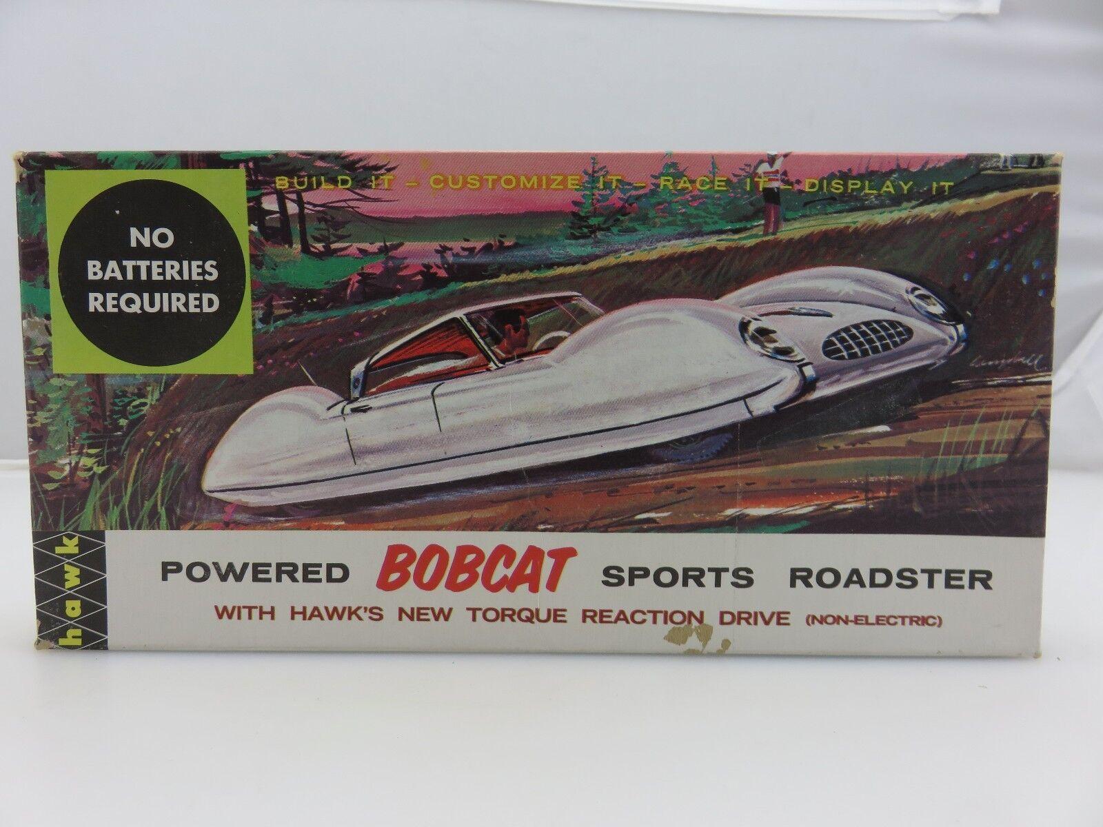 Hawk bobcat - sport - roadster mit rohrstabilisierungseinheit 633 gebaut.