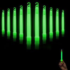 10-Pcs-Premium-Bright-Green-Glow-Sticks-Fluorescent-Neon-Party-Light-Stick
