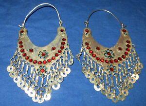 Earrings-Hoop-Afghan-Kuchi-Tribal-Alpaca-Silver-3-034
