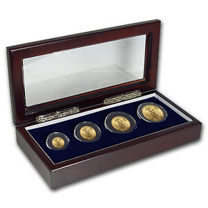 2017 4-Coin Gold American Eagle BU Set - SKU #117605