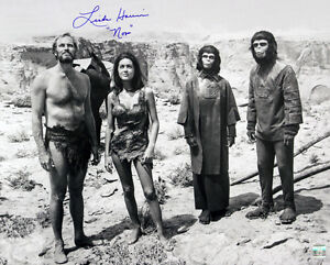 1968-Linda-Harrison-Planet-of-the-Apes-Signed-LE-16x20-B-amp-W-Photo-JSA-1
