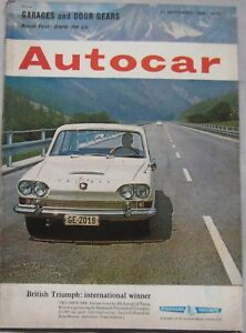 Autocar-magazine-11-September-1964-featuring-BMW-road-test-Ford-Cortina