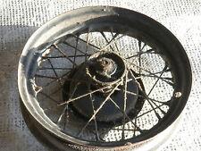 "OEM original paint Harley Rad mit Bremse wheel brakedrum 16 Flathead 45"" WL"