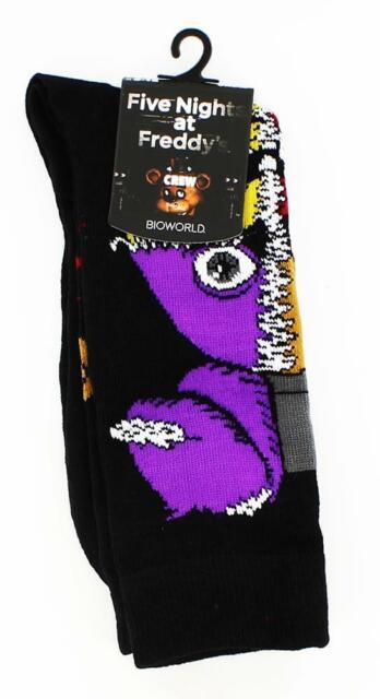 Five Nights at Freddy's Crew Socks