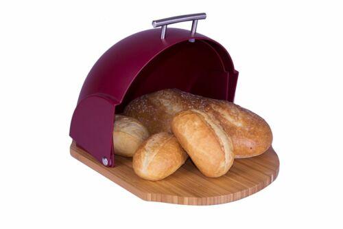 Schwarz Brotdose Brotkasten Weiß Lila Grün Rot Brotbox Bambus Cremig