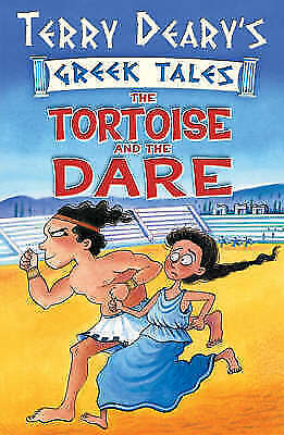 """AS NEW"" The Tortoise and the Dare: Bk. 2 (Greek Tales), Deary, Terry, Book"