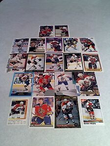 Gord-Murphy-Lot-of-100-cards-46-DIFFERENT-Hockey