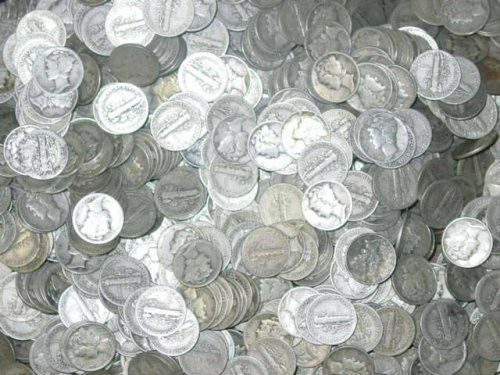 One half Troy Pound of Mixed US Junk Silver Coins Super Friday Sale