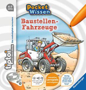 Details Sur Ravensburger Tiptoi Livre Poche Vehicule De Chantier Neuf