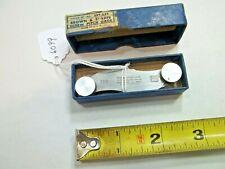 Thread Gage Brown Amp Sharpe No 630 Machinist Thread Gage Measures 9 40 Tpi