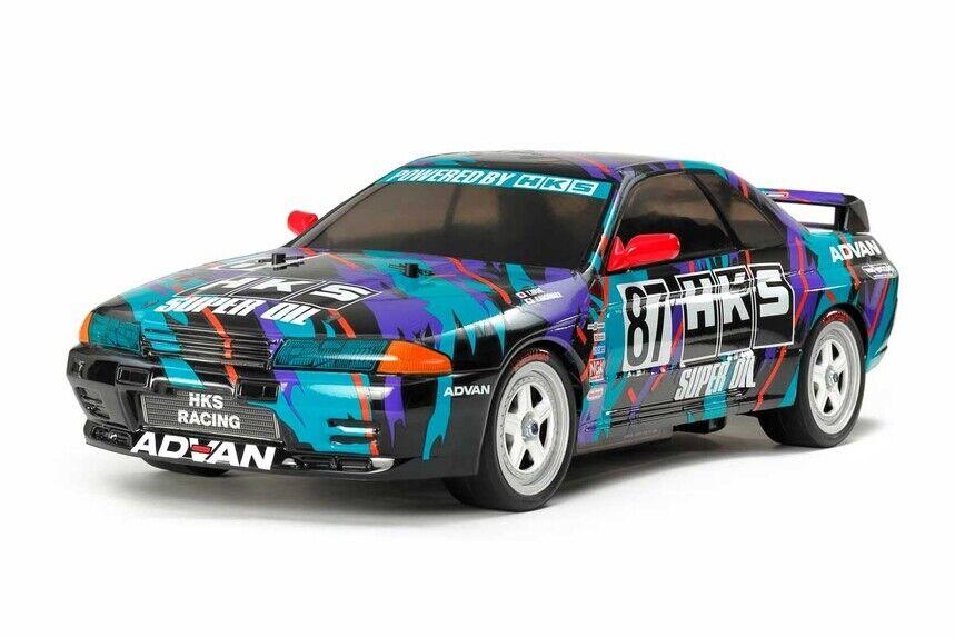 Tamiya 47397 1 10 RC auto TT-01E  Chassis HKS Nissan cieloline GT-R Gr.A R32 Kit  la vostra soddisfazione è il nostro obiettivo