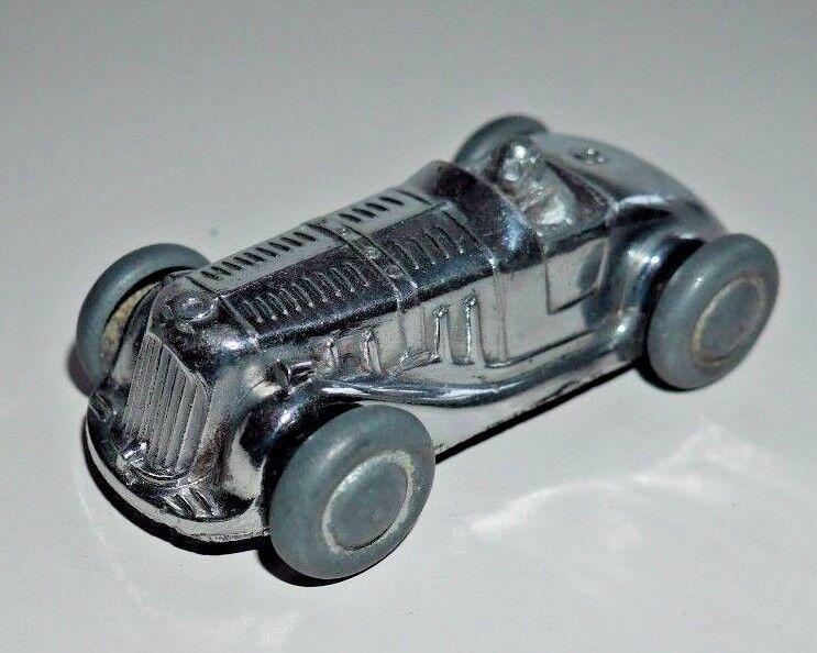 La gaieté TOYS CASTLE Art produits Chrome Roadster Voiture de  course tous métal RARE A111  prix de gros
