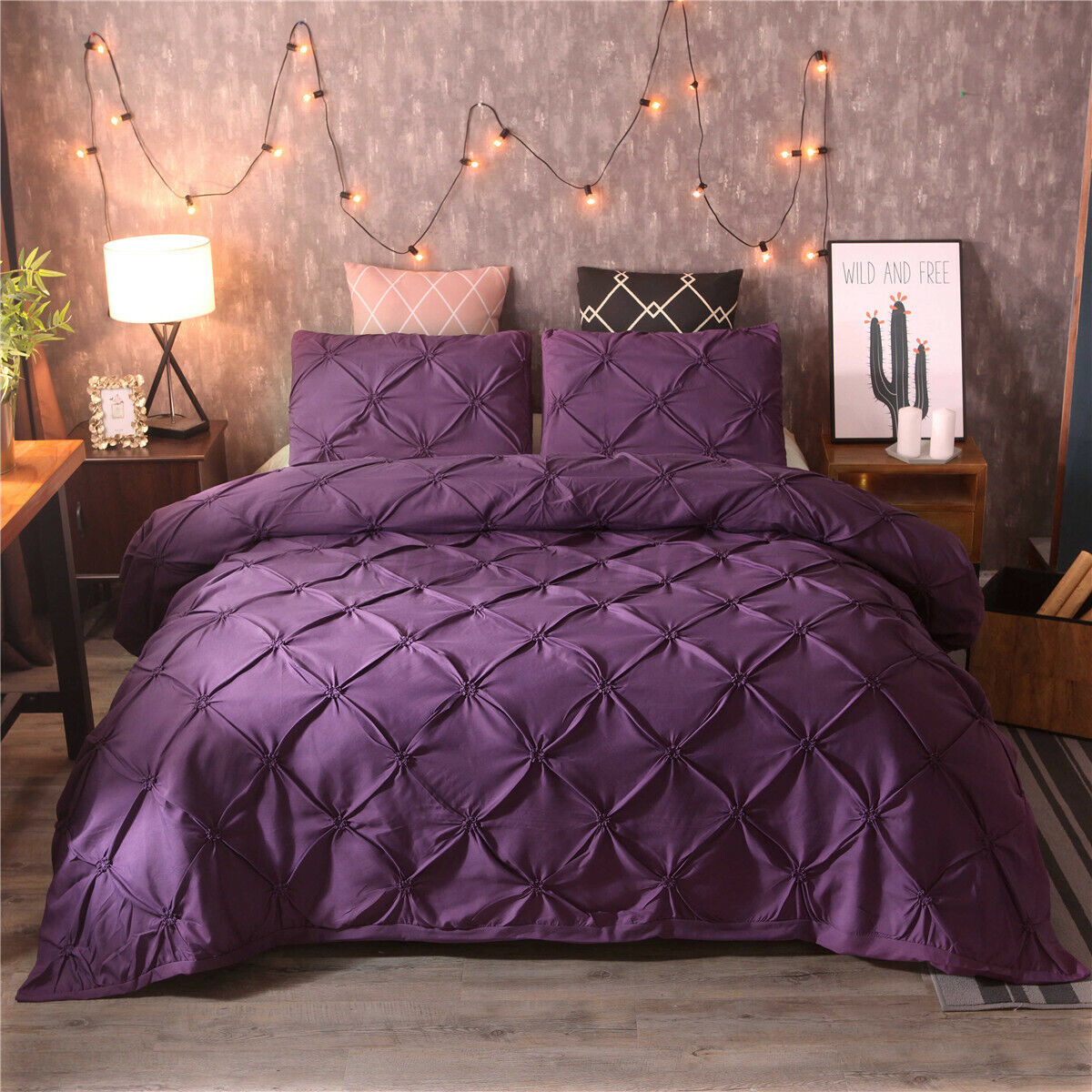 Sweet Jojo Designs Purple Funky Zebra 3 Piece Full Queen Size Bedding Set For Sale Online Ebay