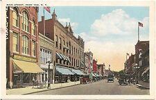 View on Main Street in Penn Yan NY Postcard