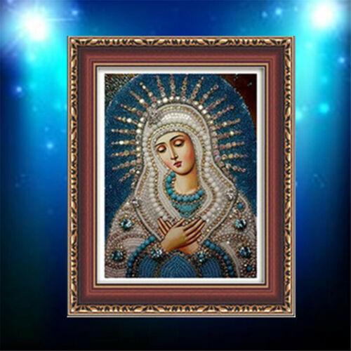 Wall Decor 5D Virgin Mary Diamond Painting Diamond Embroidery Cross Stitch MA