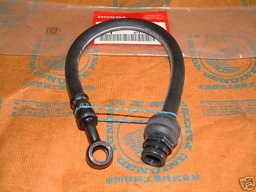 Honda CB360T CB550 CB750 Front Lower Brake Hose 1975-78