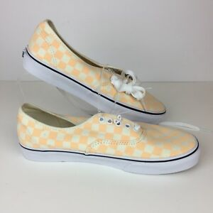 Image is loading Vans-Checkered-Vans-Checkboard-Peach-Creme-Lace-Women- aa38607fd