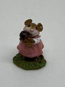 Wee-Forest-Folk-Yummy-Pink-Dress-William-Peterson-2002-Retired-M277