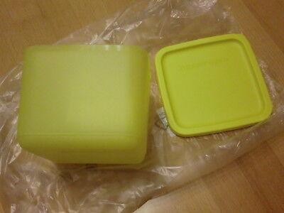 Quadrato Kühlschrankdose Tupperware Dose 1l gelb NEU