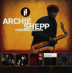 Archie-Shepp-5-Original-Albums-CD-Box-Set-5-discs-2018-NEW-Great-Value