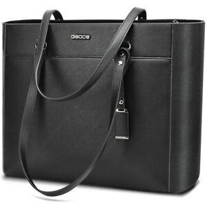 OSOCE-16-5inch-Women-Office-Bag-Briefcase-Laptop-Tote-Case-Handbag-Casual-Bag-UK