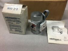 """NEW OLD STOCK Heatnapper 3"""" Thermally Actuated Automatic Vent Damper WVD 2-3"""