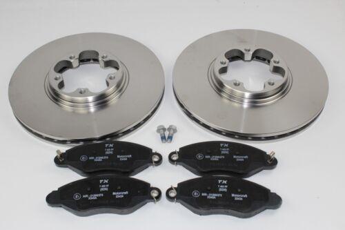 Beläge vorne Ford Transit Frontantrieb 1738807+1465168 Original Bremsscheiben