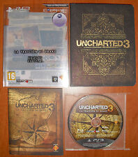 Uncharted 3: La Traición de Drake Edición Especial, PlayStation 3 PS3 Pal-España