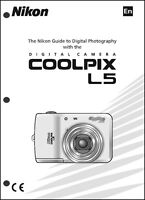 Nikon Coolpix L5 Digital Camera User Guide Instruction Manual