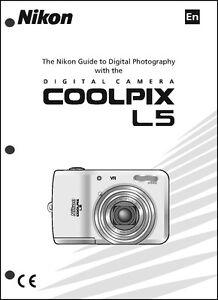 nikon coolpix l5 digital camera user guide instruction manual ebay rh ebay com Nikon Coolpix S01 Manual Nikon Coolpix S01 Digital Camera