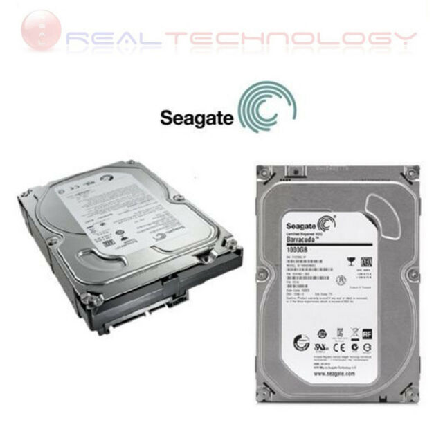 "HARD DISK INTERNO 1TB 3,5"" SATA SEAGATE 7200 RPM 1000GB PC DESKTOP ST1000DM010"