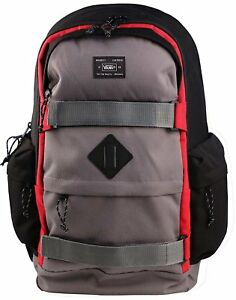 VANS Jetter Backpack Black Gray Red Large One Size 190284038131  99f2730267e24