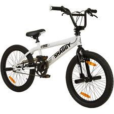 Rooster Big Daddy 20 Bmx Schwarz Radsport Weiiß mit Speichenräder