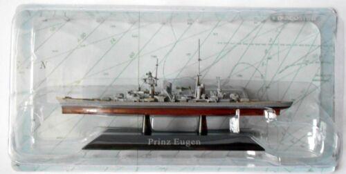 10 Prinz Eugen DIE CAST NAVI DA GUERRA Incrociatore Pesante Scala 1:1250