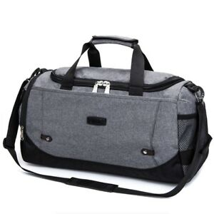 Image Is Loading New Crossfit Duffle Bag Large Black Blue Gray