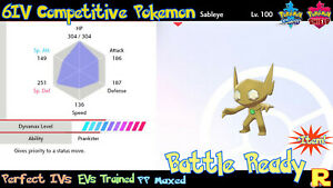 6IV-COMPETITIVE-SABLEYE-SHINY-ULTRA-or-NOT-ITEM-SWORD-amp-SHIELD