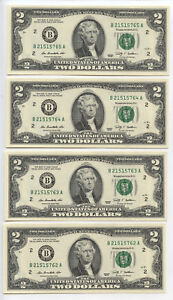 Serial-Run-2009-Federal-Reserve-12-Notes-Consecutive-Currency-New-York-AT23