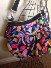 Betsey Johnson  Betseyville Candy Pattern Bag RARE