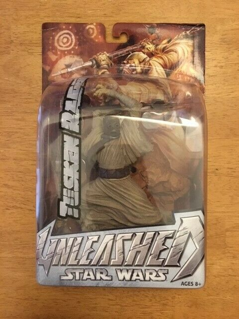 Star Wars Hasbro Tusken Raider Unleashed Action Figure 2004