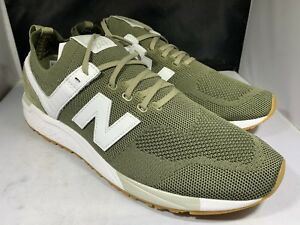 info for d173f ec8a2 Image is loading New-Balance-Men-s-MRL247DV-Green-and-white-